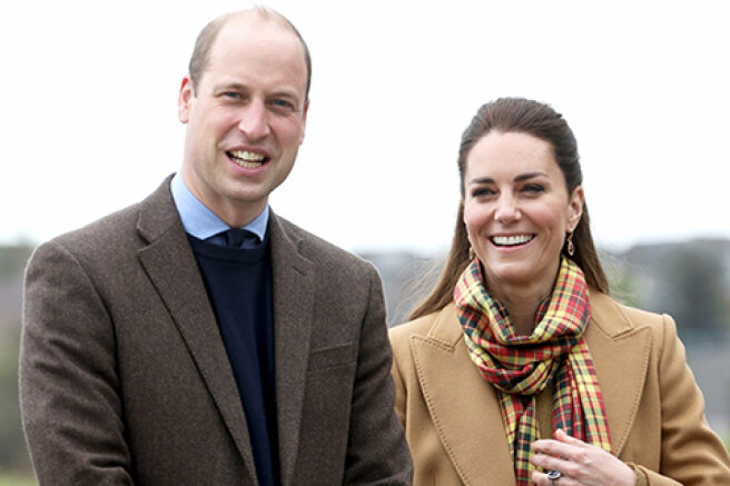 Kate Middleton and Prince William arrive in Orkney for the first time