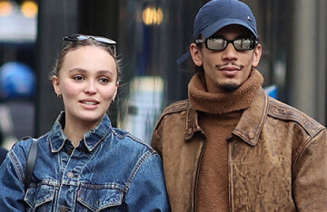 Lily-Rose Depp was spotted on a walk in Paris with new boyfriend Yasin Stein