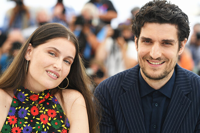 Cannes-2021: Letizia Casta and Louis Garrel presented their new film — the first appearance of the couple after the birth of a child