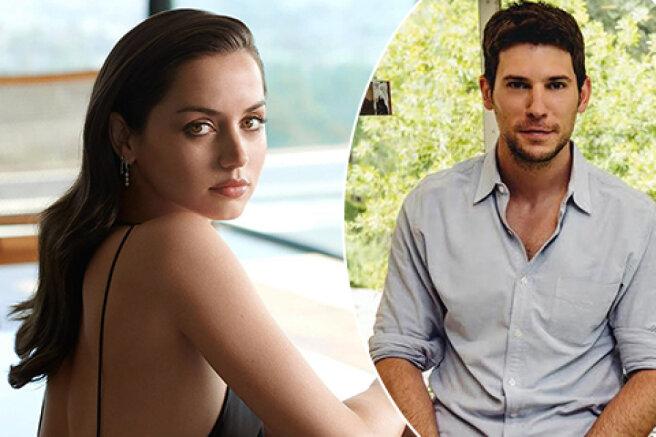 Ana de Armas again provoked rumors of an affair with Tinder vice President Paul Boukadakis