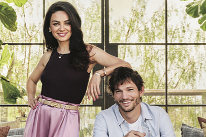Mila Kunis and Ashton Kutcher talked about their house, which was built for five years