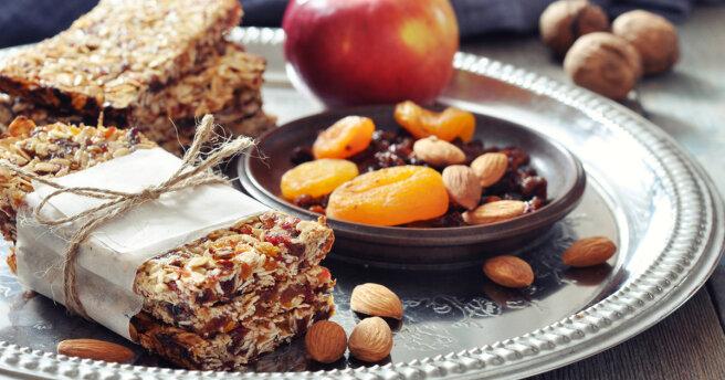 Energy bars: TOP 3 delicious recipes