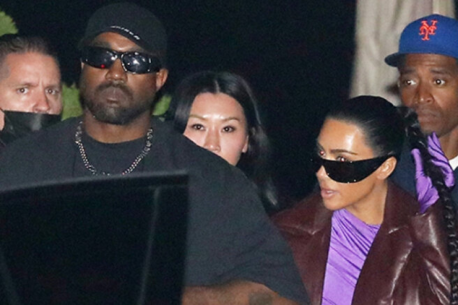 Former spouses Kim Kardashian and Kanye West are spending time together again: new photos