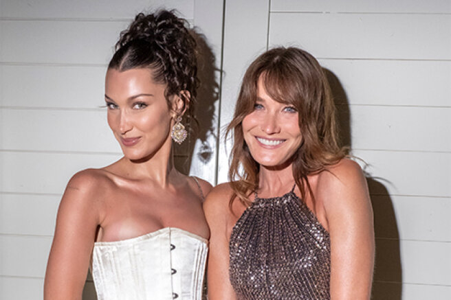 Cannes-2021: Bella Hadid, Carla Bruni, Iris Lowe and other stars at the Dior dinner