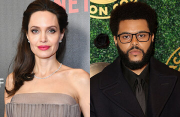 Angelina Jolie and The Weeknd have fueled romance rumors again