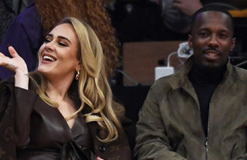 Adele went out with her boyfriend Rich Paul