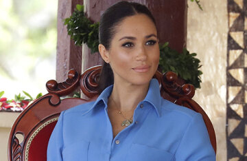 """Meghan Markle wrote a public letter and told about a difficult childhood: """"I've been working since I was 13"""""""