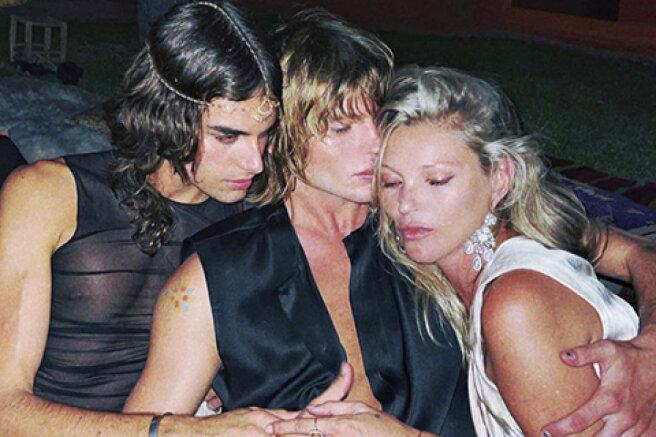 Kate Moss, cocktails and a horror movie: mannequins Jordan Barrett and Fernando Casablancas got married in Ibiza