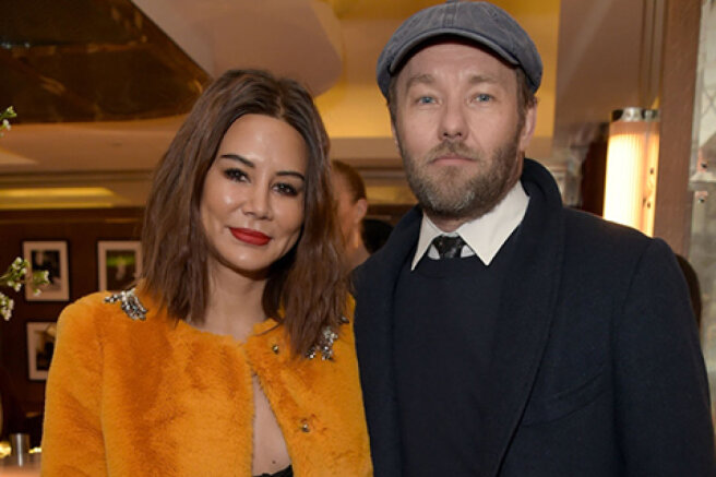 Joel Edgerton became a father for the first time