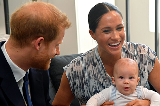 Meghan Markle and Prince Harry wish son Archie a happy birthday and declassify his nickname