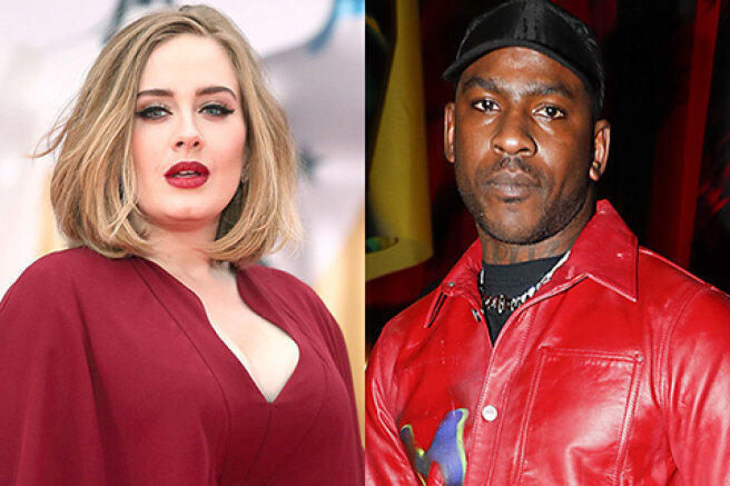 Adele was spotted shopping with rapper Skepta amid rumors about their romance