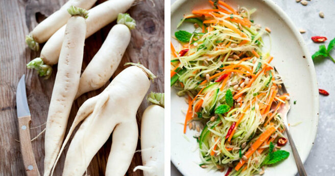 Miracle daikon: the benefits of a vegetable and 3 delicious dishes with it