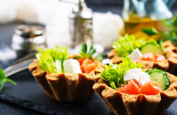 Lent 2021: a variety of recipes for lean tartlets