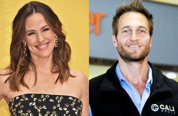 Jennifer Garner provoked rumors of a reunion with ex-boyfriend John Miller