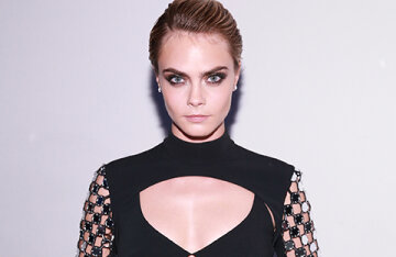 """Cara Delevingne talked about her sex life: """"I prefer to be silent during orgasm"""""""