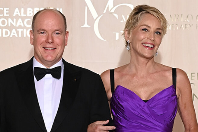 Sharon Stone, Orlando Bloom, Prince Albert II and others at the gala evening in Monaco