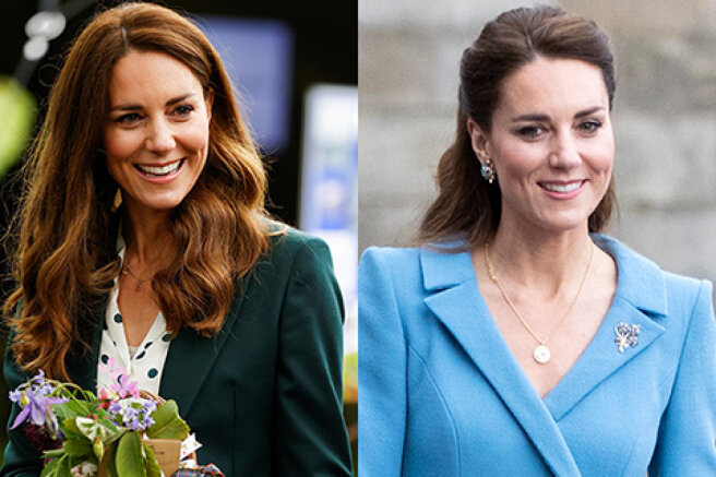 From cozy casual to romantic classics: four new looks for Kate Middleton on the royal tour of Scotland