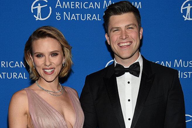Colin Jost confirmed the pregnancy of his wife Scarlett Johansson