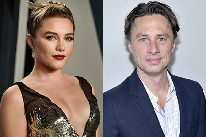"""Florence Pugh told why people criticize her affair with the star of the TV series """"Clinic"""" Zach Braff"""
