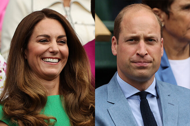 Kate Middleton and Prince William visited Wimbledon: the first appearance of the Duchess after self-isolation