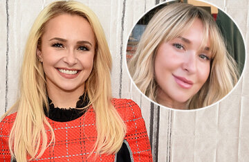 Hayden Panettieri returned to Instagram after a long break and showed off a new look