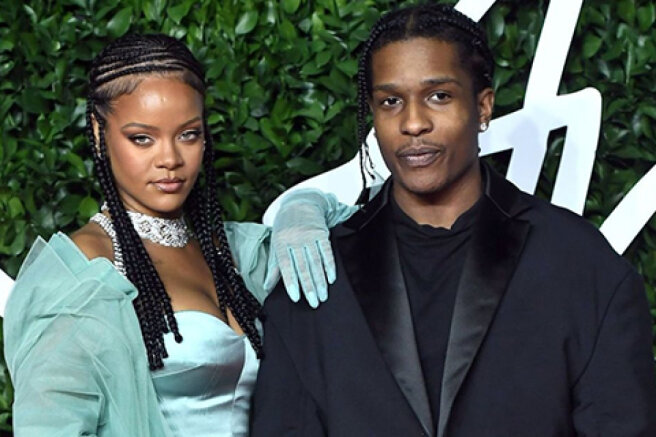 """A$AP Rocky Confirms His Romance with Rihanna: """"The Love of My Life"""""""