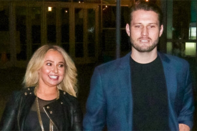 Hayden Panettieri met with her ex-boyfriend after his release from prison. He was serving time for domestic violence