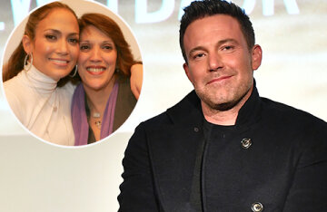 Ben Affleck starred with his mother Jennifer Lopez in a commercial