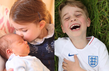 Mom can: the funniest and most touching pictures of the children of the Dukes of Cambridge by Kate Middleton