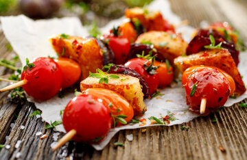 TOP 3 dishes for vegans: an alternative to barbecue
