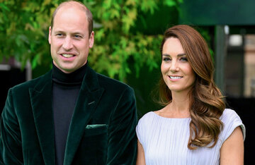 Kate Middleton and Prince William at the Earthshot Prize Awards
