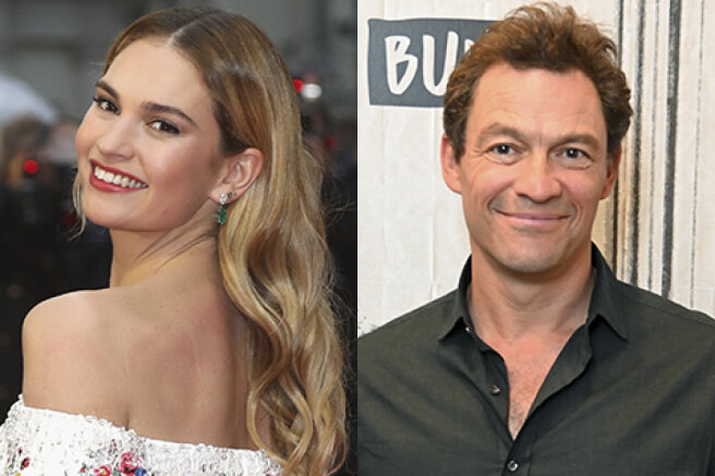 """Lily James has commented on her first brief romance with married actor Dominic West: """"There is a lot to say"""""""