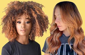"""""""Pumpkin cream"""": we dye our hair in a fashionable shade this autumn"""