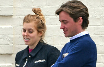 Princess Beatrice made her first public appearance since announcing her pregnancy