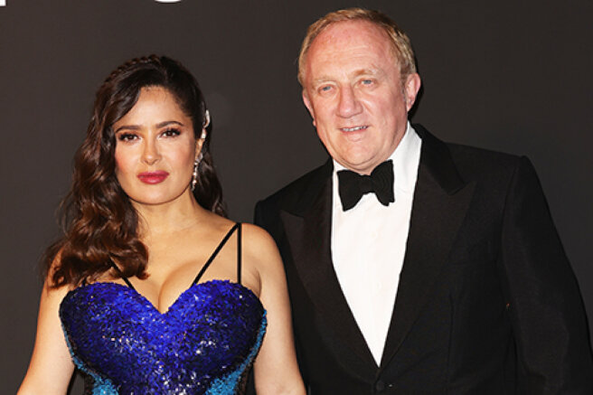 Cannes-2021: Salma Hayek and Francois-Henri Pinault, Maggie Gyllenhaal and others at the Kering Gala
