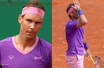 The network discusses sports tight pink shorts of Rafael Nadal