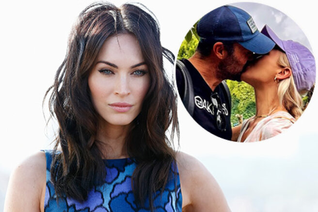 Megan Fox reacted to a picture of her ex-husband Brian Austin Green kissing his new lover