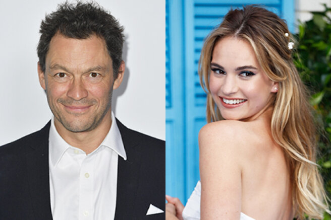 Dominic West asked Lily James to avoid talking about their affair