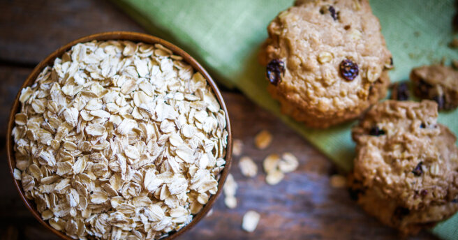 Homemade oatmeal cookies: a simple recipe