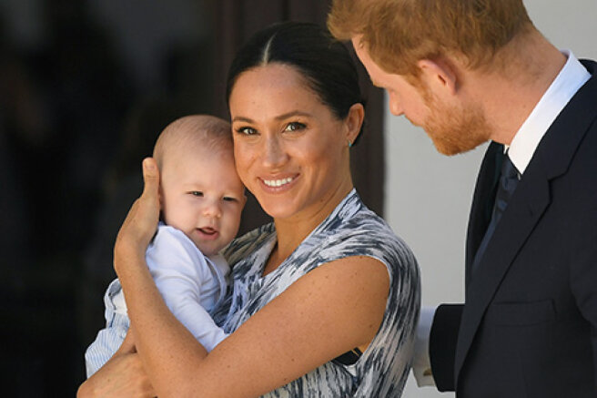 """The network discusses the new picture of the son of Meghan Markle and Prince Harry: """"A copy of mom"""""""