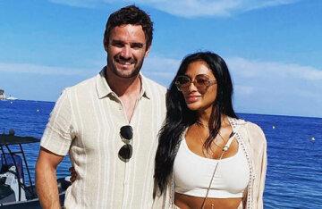 Nicole Scherzinger travels with boyfriend Tom Evans in Europe