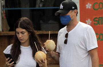 Leonardo DiCaprio and his girlfriend Camila Morrone are vacationing in Hawaii